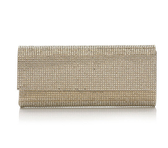 dd0a932d822 Judith Leiber Couture-Ritz Fizz Crystal Clutch Bag, Silver Champagne