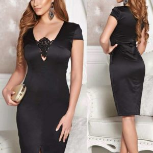 Rochie StarShinerS Captivating Elegancy Black