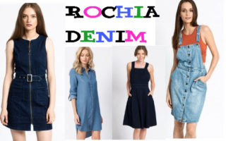 Cum combinam in outfit rochia denim – vanzari online
