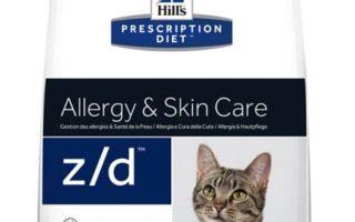 Hrana pentru pisici cu probleme de eruptii pe piele